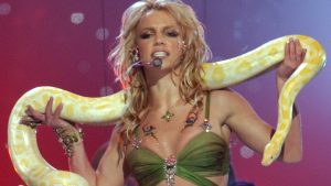Britney Spears' 'Slave 4 U' Costume Is Being Auctioned Minus The Snake