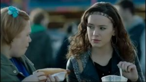 Ridley made her TV debut in the BBC drama, Casualty,