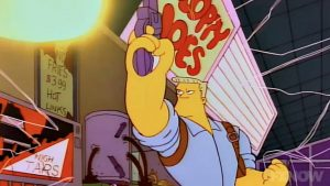 There's a full McBain movie hidden in The Simpsons