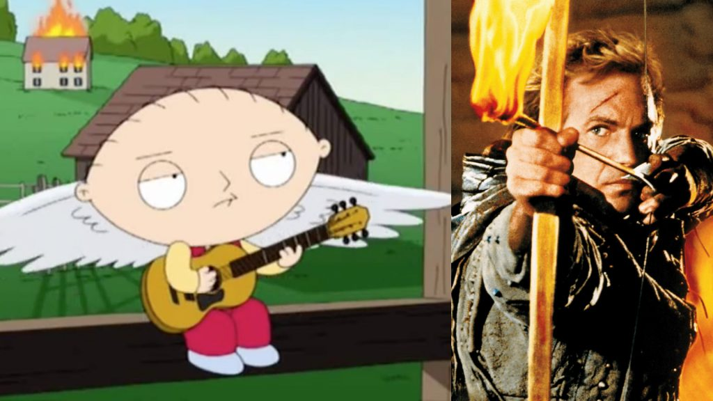 """Revisit Family Guy's Stewie Doing An Epic Bryan Adams Cover """"(Everything I Do) I Do It for You."""""""